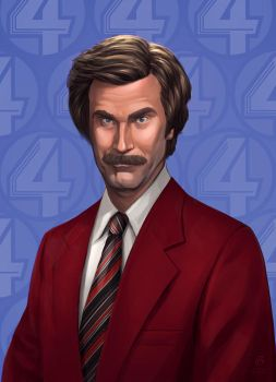 Anchorman 2 by PatrickBrown