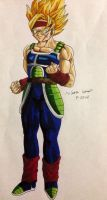 Request: Super Saiyan Bardock .0. by dbz-senpai