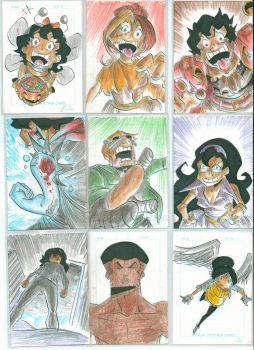 Sketch cards 4 by Jey09