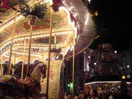 Trier: Winter Carrousel by Aquarior