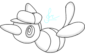 .:Chibi RQ:. - Lucas the Porygon-Z by MusicallyMeowstic