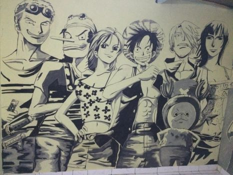 One pieceart by ryoaditya