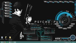 Psycho-Pass by fvze