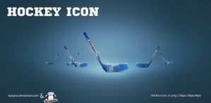 Hockey icons by Tyzyano