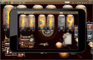 Windows 8 Tablet Steampunk Widget Screenshot by yereverluvinuncleber