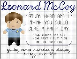 McCoy Motivational Pattern by black-lupin