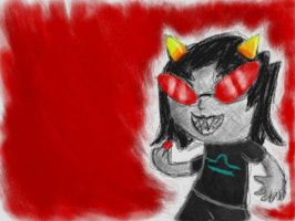SORRY I DREW HOMESTUCK by Quacksquared