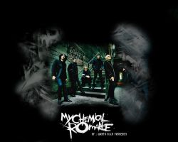 My Chemical Romance Wallpaper. by King-Aeolus