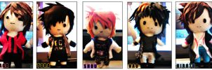 PLUSHIES - Alice Nine:RAINBOWS by IceAngel30