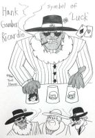 The King of the Gambling by komi114