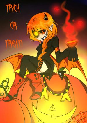 Trick or treat by SpavVy