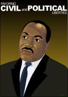 Martin Luther King Jr. by ispec