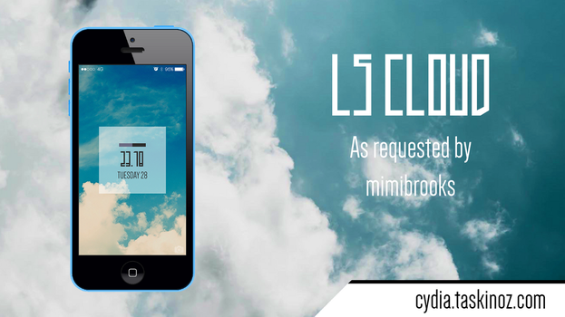 LS Cloud - A port of an Android LockScreen by taskinoz