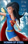 Man Of Steel : If he was a girl by PAabloO