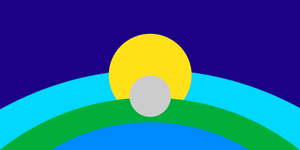 Life-Unlimited Earth Flag by TheRealMister86