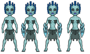 Frost Giantesses by digikevin10