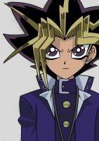 Atem Yu-Gi-Oh! -Paint- by Twin-Gamer
