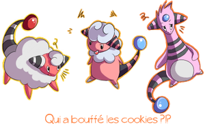 Qui a bouffe les cookies by Ponyta3