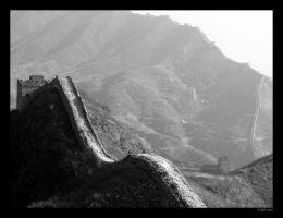 Great Wall of China V by mercyop