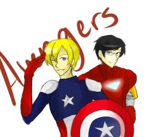 Ouran Avengers by UbiquitousCreator