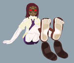 Painwheel's Tired Soles (Request) by TobyMcDee