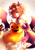 Happy Halloween 2015! [+Speedpaint] by Maruuki