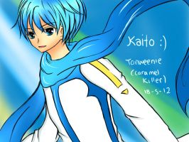 kaito vocaloid by tanweenie