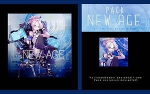 Pack ''New Age'' by Yui-chanKawaii