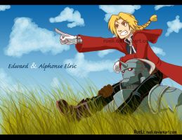 FMA...Ed and Al by RueLi
