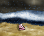 Ikkle Hermit Crab by OuijaKitty