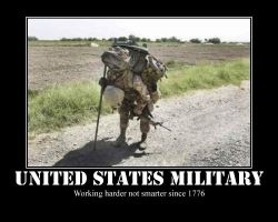The U.S. Military... by Wolfblade670