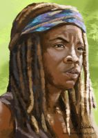 Michonne by martianpictures
