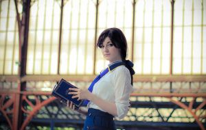 Elizabeth  - Bioshock Infinite by Shirokii