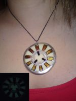 Arc Reactor necklace by hellduck
