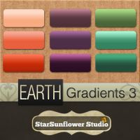 Photoshop Gradients - Earth 3 by starsunflowerstudio