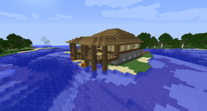 Minecraft Island House #2 by Cosmic155