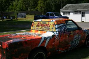 Raggatron Truck wrap 2 by MattAcustoms
