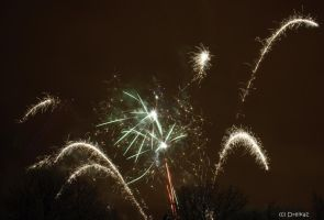 Fireworks 2 by Dreikaz-Photos