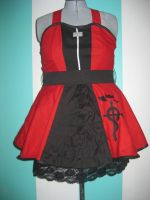 Fullmetal Alchemist Edward Elric Dress Commission by DarlingArmy