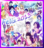 FELIZ 2013 by rebenke