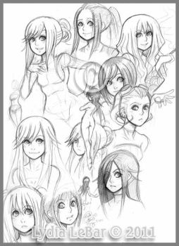 Lilly_Lamb Sketchies 2011 by Lilly-Lamb
