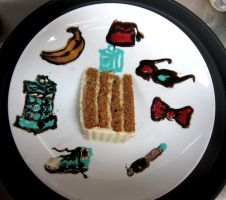 Doctor Who Plate by Adriellovesart