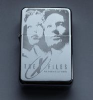 THE X-FILES - engraved lighter by Piciuu
