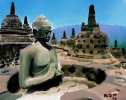 Borobudur Temple by bensonput