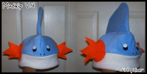 Mudkip Hat V.4 by Cristophine