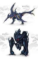 Dark Fake Legendary Pokemon