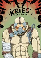 Krieg the Psycho by bonuschita