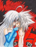 Nu and Ragna by AndroidxKos-mos