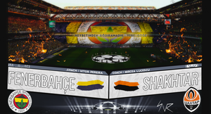 Fenerbahce - Shakhtar Donetsk | Champions League by snrdesigns