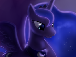 Luna - princess of the night by Raikoh-illust